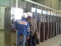 gas heating system
